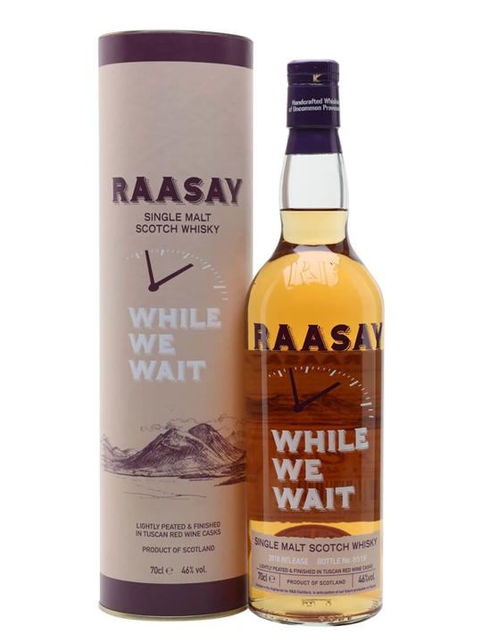 R&B Raasay While We Wait Single Malt Scotch Whisky