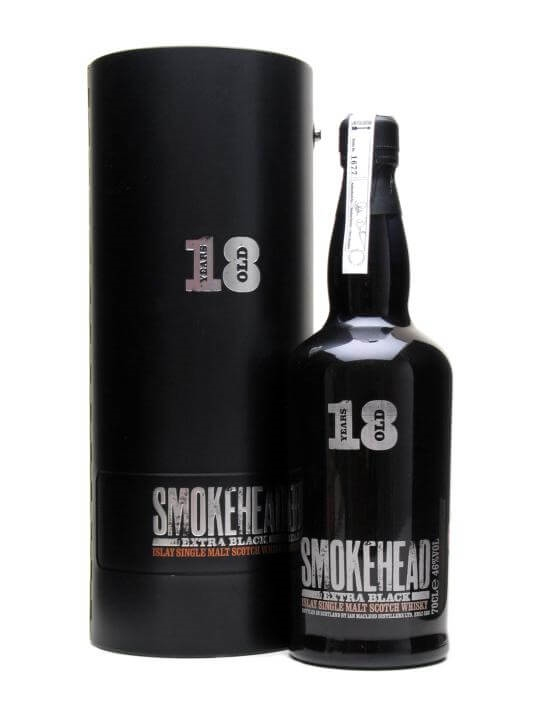 Smokehead Extra Black / 18 Year Old Islay Single Malt Scotch Whisky