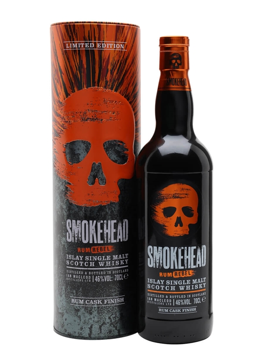 Smokehead Rum Rebel Islay Single Malt Scotch Whisky