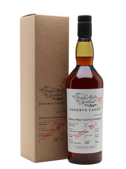 Speyside 10 Year Old / Sherry Cask / Reserve Cask - Parcel No.4 Speyside Whisky