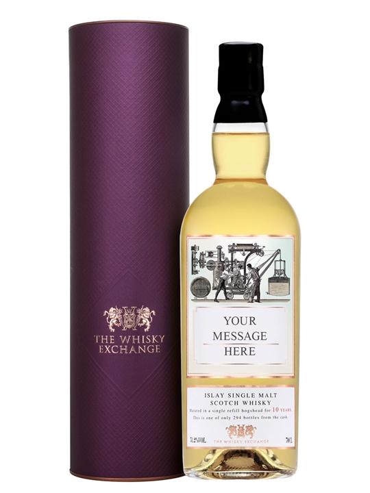 Personalised 10 Year Old Scotch Whisky Islay Single Malt Scotch Whisky