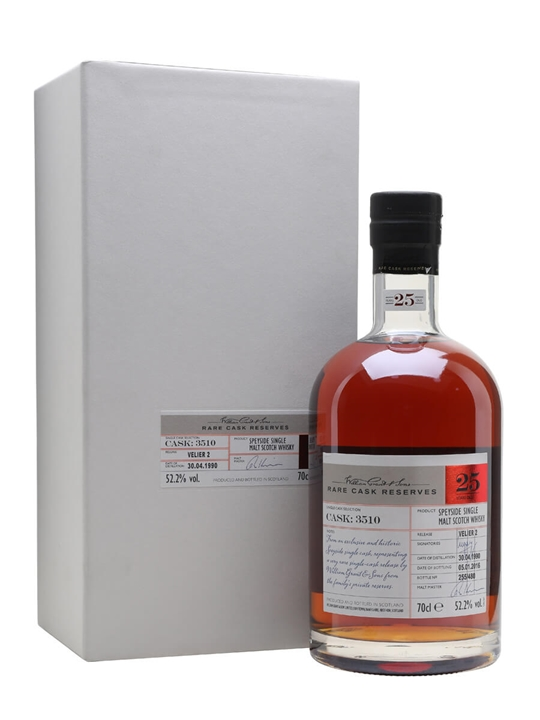 William Grant 1990 Velier 2 / 25 Year Old / 70ans Velier Speyside Whisky