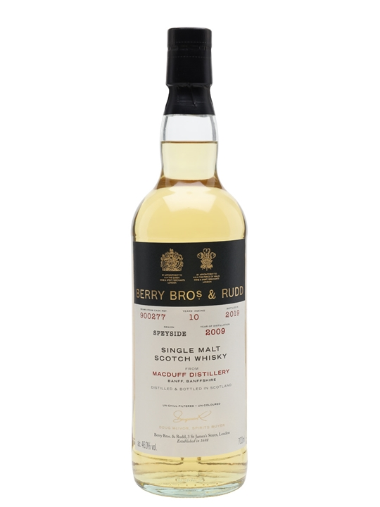 Macduff 2009 / 10 Year Old / Berry Bros & Rudd Highland Whisky