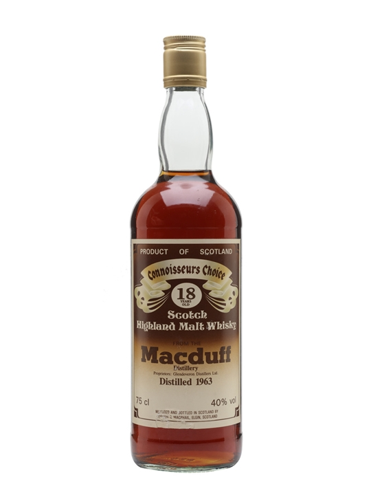 Macduff 1963 / 18 Year Old / Connoisseurs Choice Highland Whisky