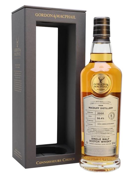 Macduff 2000 / 18 Year Old / Connoisseurs Choice Highland Whisky