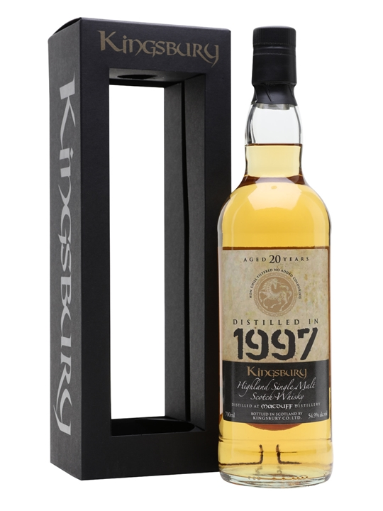 Macduff 1997 / 20 Year Old / Kingsbury Highland Whisky
