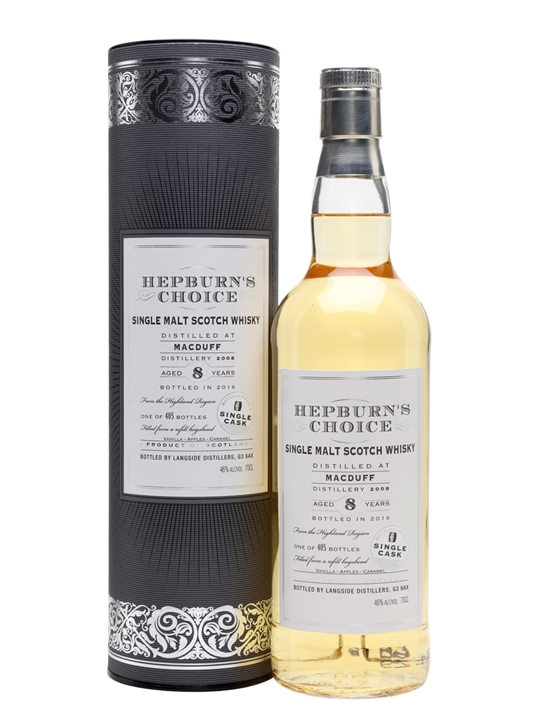 Macduff 2008 / 8 Year Old / Hepburn's Choice Highland Whisky