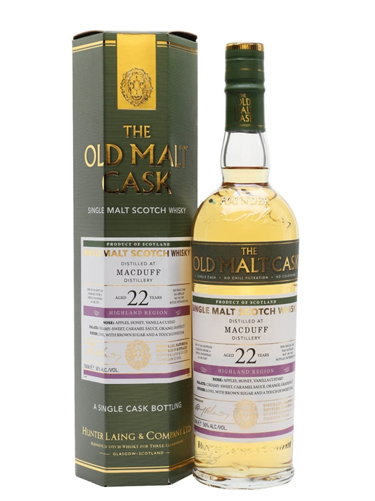 Macduff 1997 / 22 Year Old / Old Malt Cask Highland Whisky