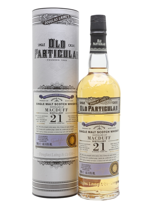 Macduff 1997 / 21 Year Old / Old Particular Highland Whisky