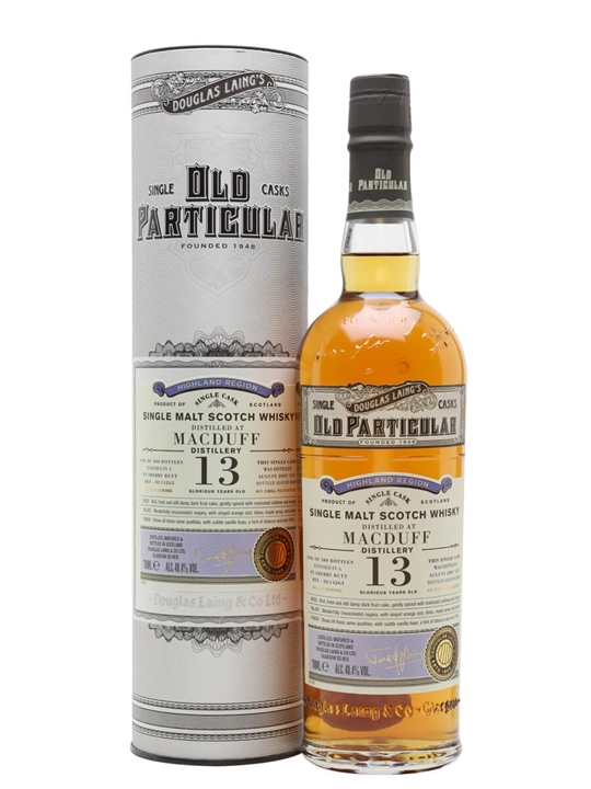 Macduff 2007 / 13 Year Old / Old Particular Highland Whisky