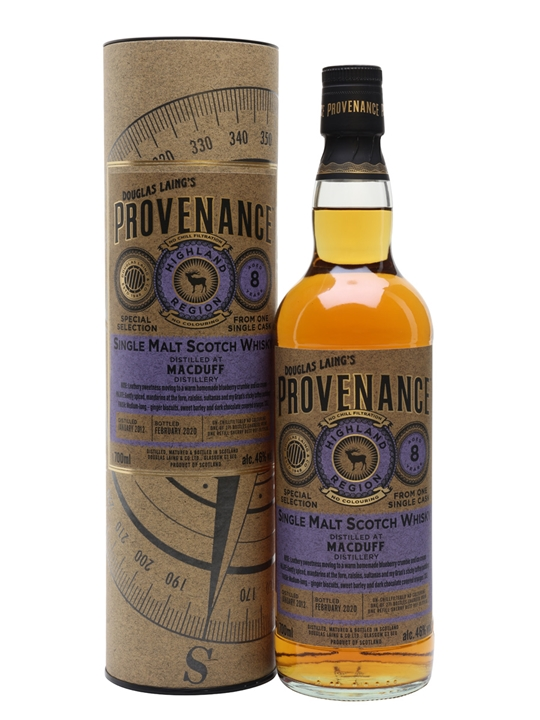 Macduff 2012 / 8 Year Old / Provenance Highland Whisky