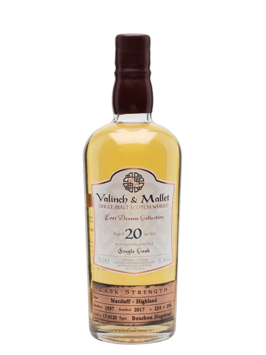 Macduff 1997 / 20 Year Old / Valinch & Mallet Highland Whisky