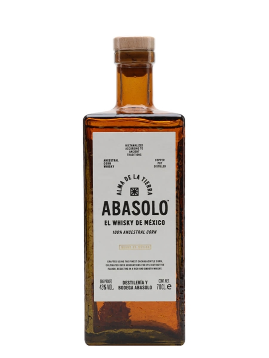 Abasolo Mexican Corn Whiskey Mexican Corn Whiskey
