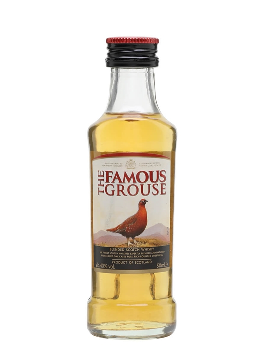 Famous Grouse / Miniature Blended Scotch Whisky