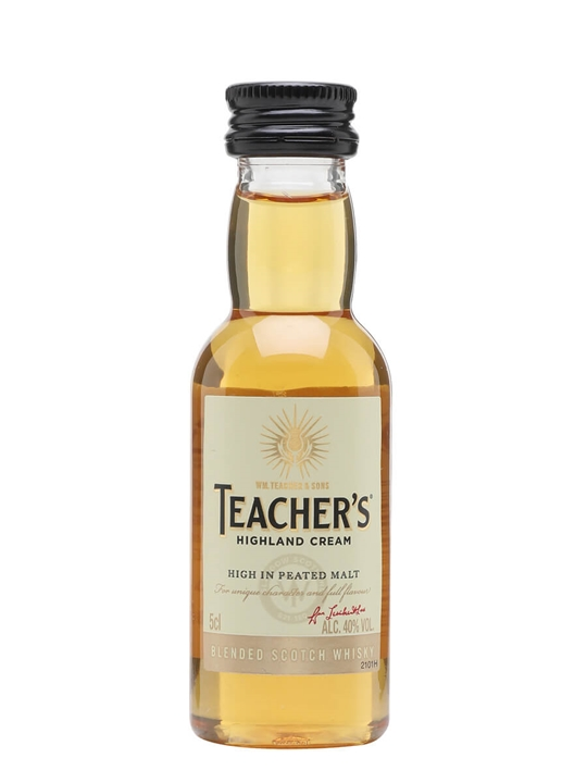 Teachers Highland Cream Miniature Blended Scotch Whisky