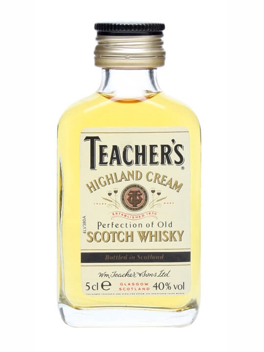 Teachers Highland Cream  Old Presentation Blended Scotch Whisky