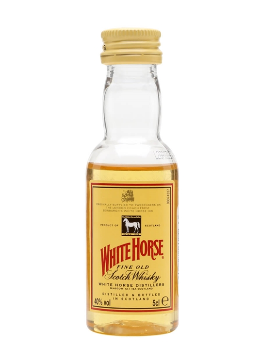 White Horse Miniature Blended Scotch Whisky