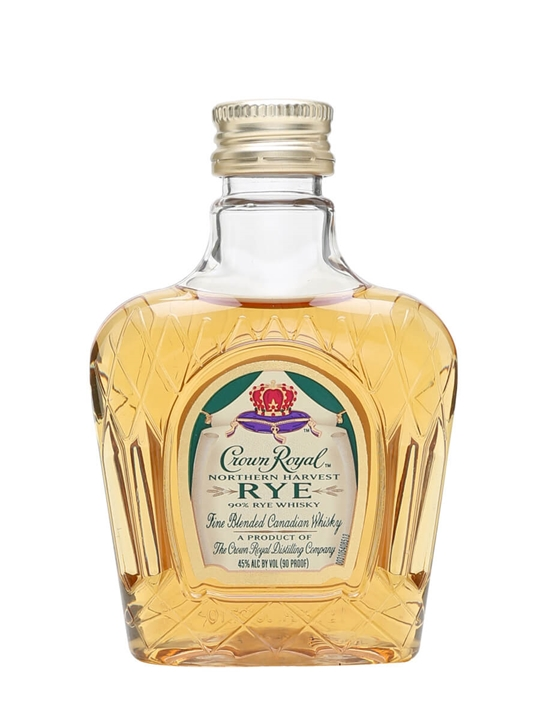 Crown Royal Northern Harvest Rye Miniature Blended Canadian Whisky