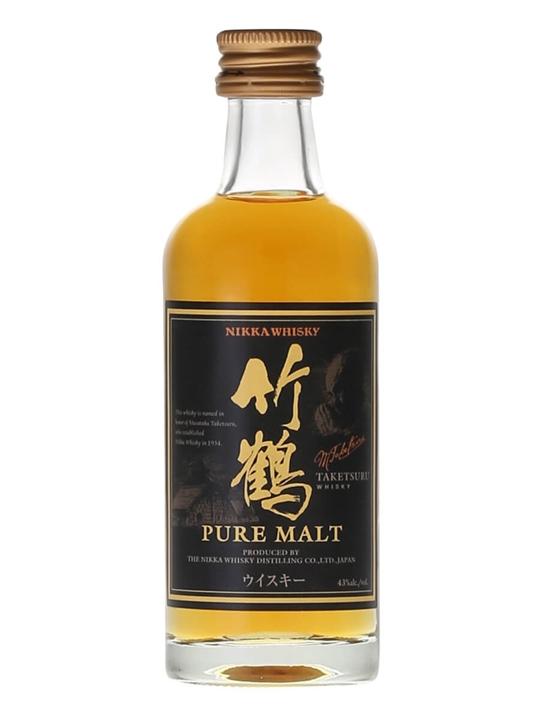 Nikka Taketsuru Pure Malt / Miniature Japanese Blended Malt Whisky