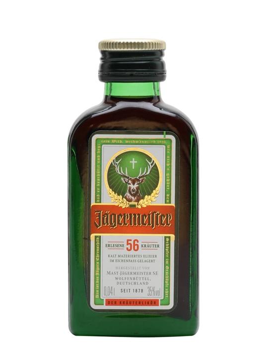 Jagermeister Liqueur Miniature