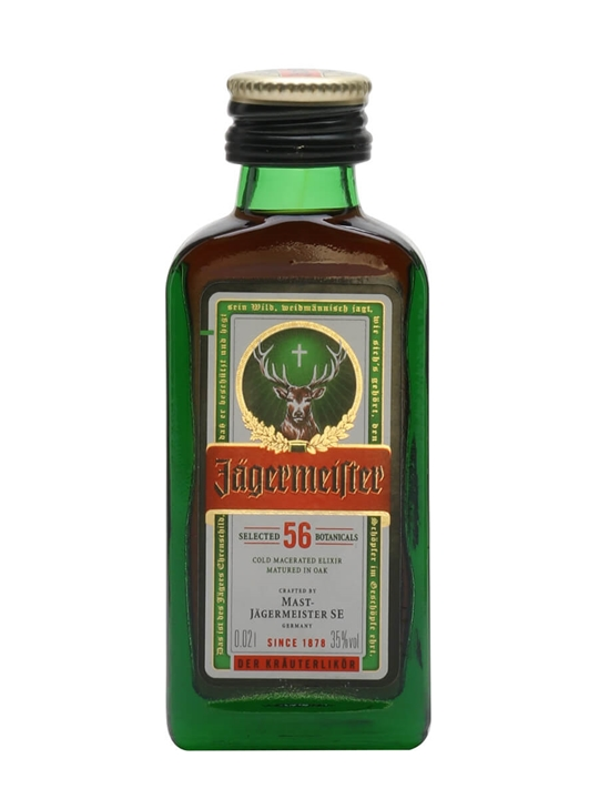 Jagermeister Liqueur Miniature / Tiny Bottle