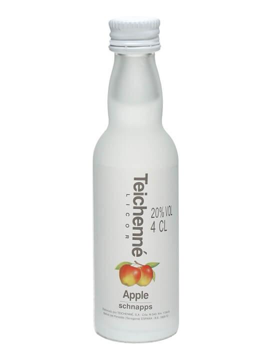 Teichenne Apple Schnapps Liqueur Miniature