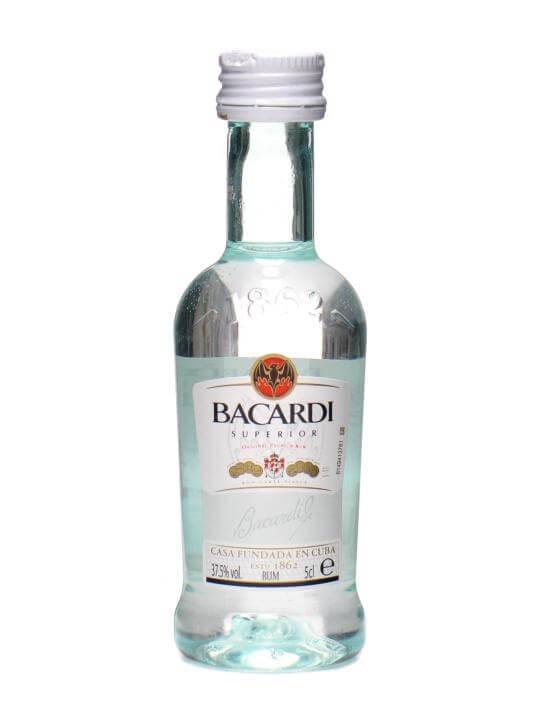 Bacardi Superior Rum Miniature