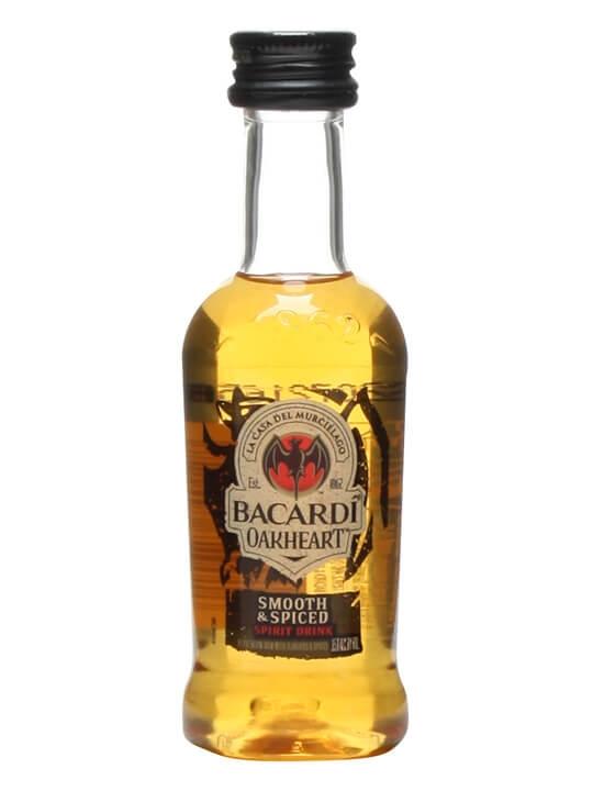 Bacardi Oakheart Spiced Rum Miniature