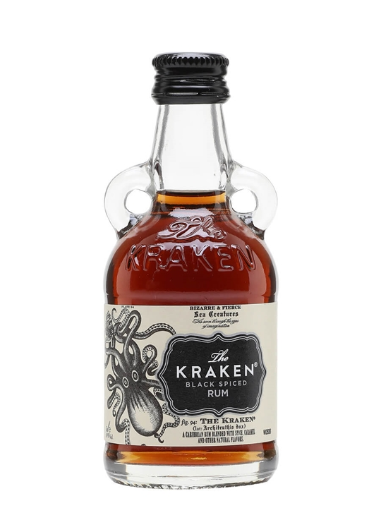 Kraken Black Spiced Rum Miniature