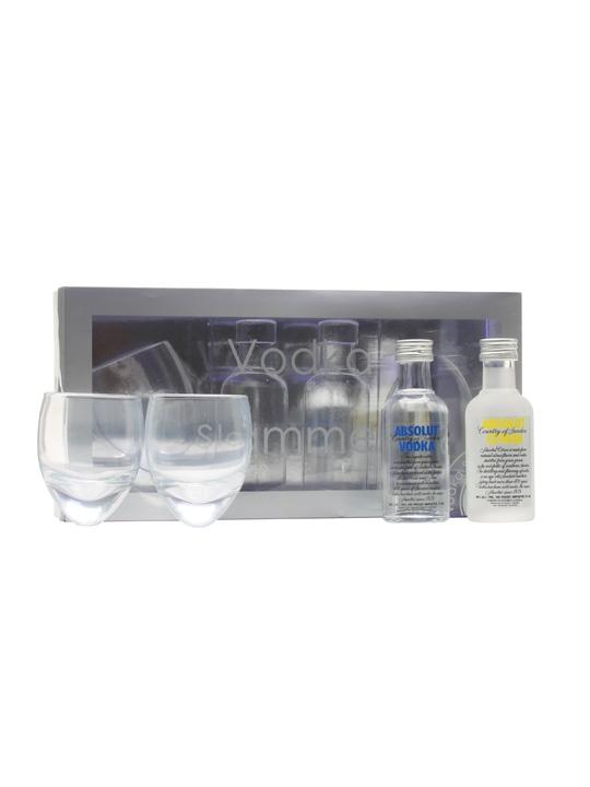 Absolut Vodka Slammers Gift Pack