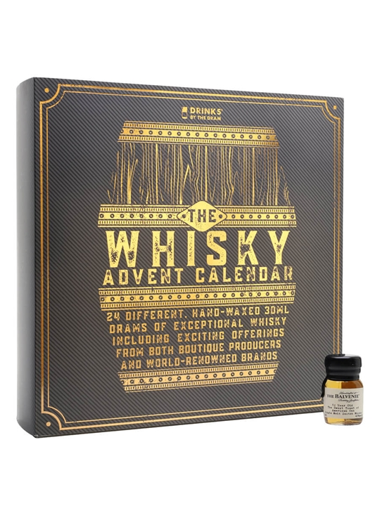 Whisky Advent Calendar / Drinks By The Dram / 24x3cl