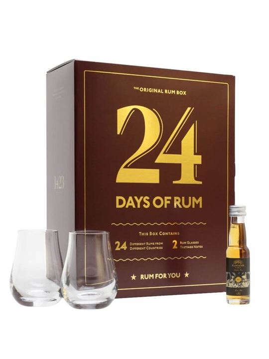 24 Days of Rum Gift Set / 24x2cl
