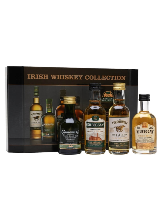 Cooley Collection Irish Whiskey Miniatures 4-pk
