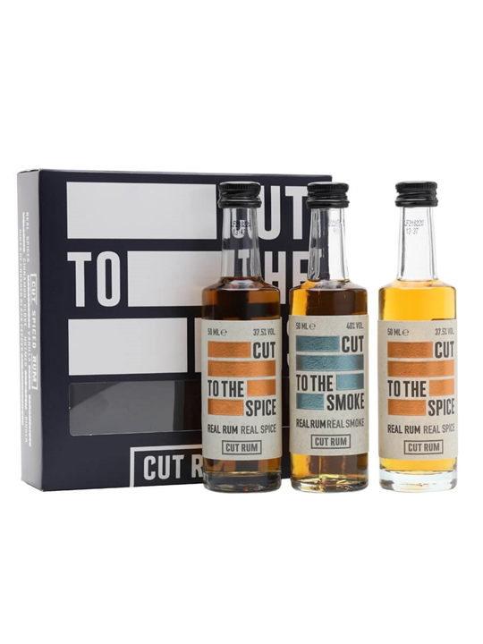 Cut Rum Miniature Gift Set / 3x5cl