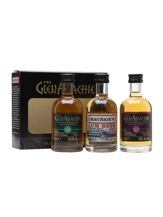 Glenallachie Mini Pack / 3x5cl Scotch Whisky