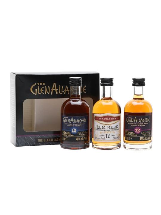 Glenallachie Miniature Gift Set / 3x5cl Speyside Whisky