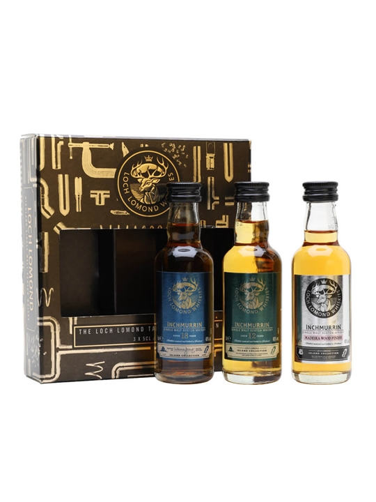 Inchmurrin Miniature Gift Set / 3x5cl Highland Whisky