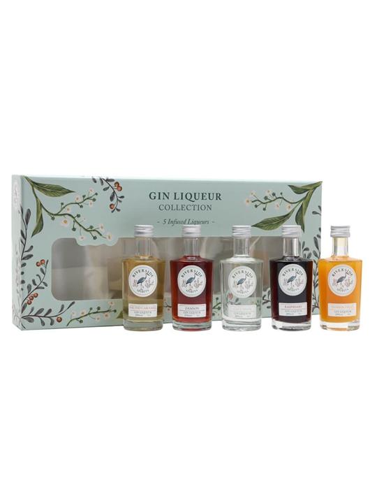 Riverside Spirits Gin Liqueur Gift Pack