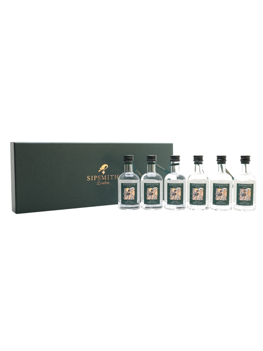 Sipsmith Gin Christmas Baubles Set