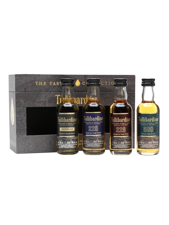 Tullibardine Tasting Collection / 4x5cl Highland Whisky