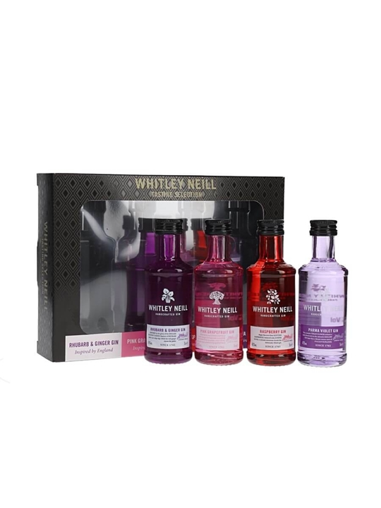 Whitley Neill Flavoured Gin Set / 4x5cl