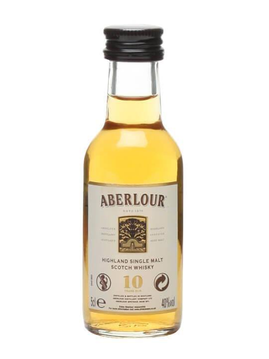 Aberlour 10 Year Old Miniature Speyside Single Malt Scotch Whisky
