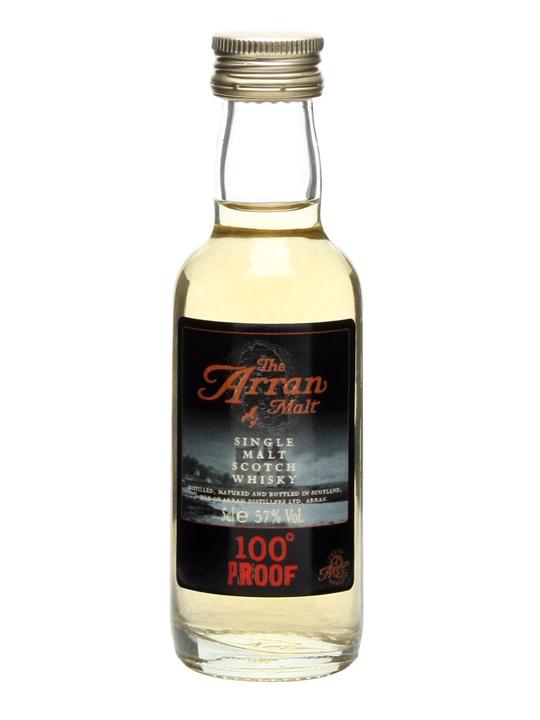 Arran 100 proof Miniature Island Single Malt Scotch Whisky