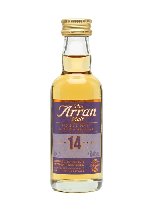 Arran 14 Year Old Miniature Island Single Malt Scotch Whisky