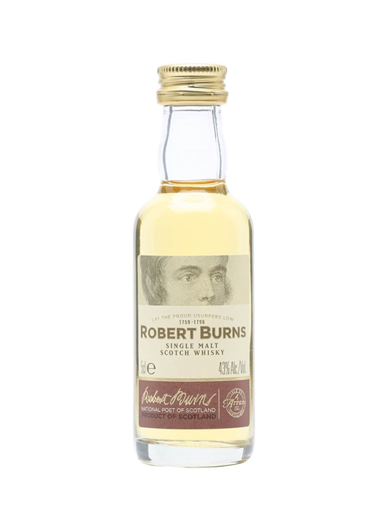 Robert Burns (Arran) Single Malt Miniature Island Whisky