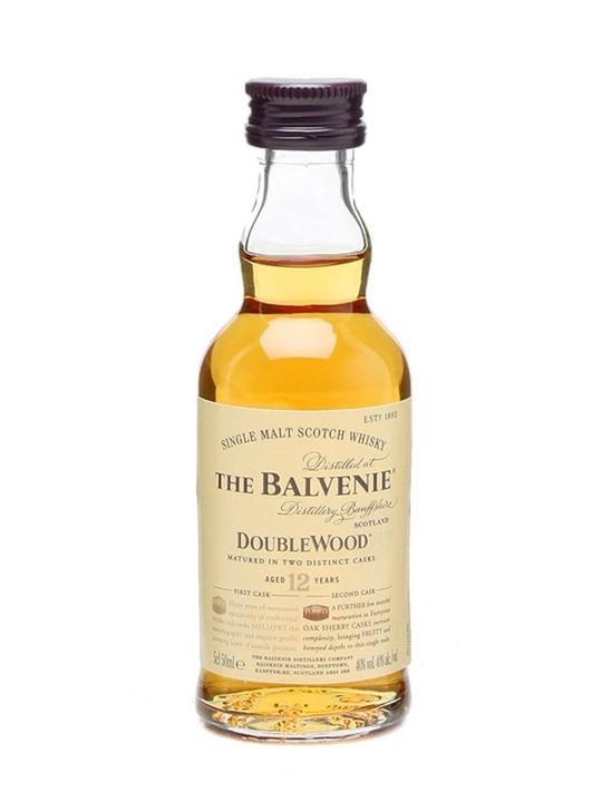 Balvenie 12 Year Old / Doublewood Miniature Speyside Whisky