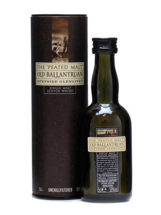 Old Ballantruan Peated Malt Miniature