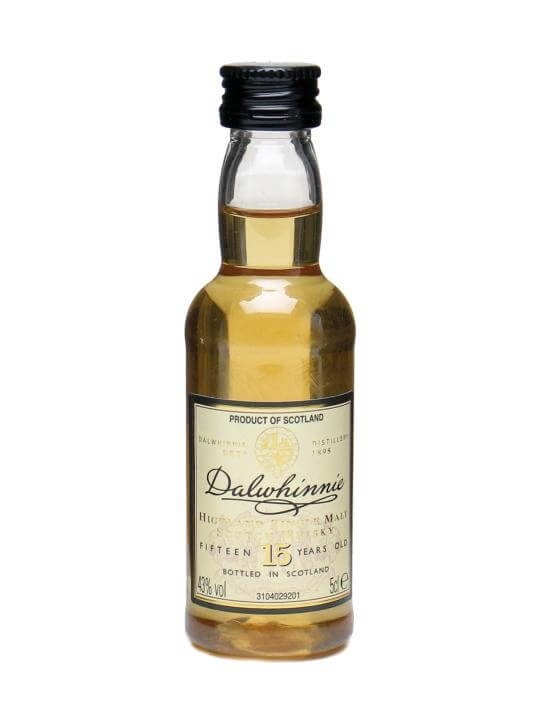 Dalwhinnie 15 Year Old Miniature Highland Single Malt Scotch Whisky