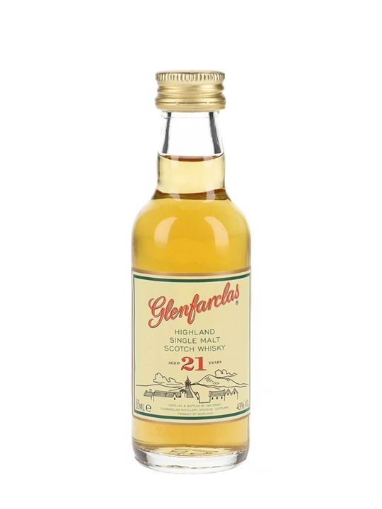 Glenfarclas 21 Year Old / Miniature Speyside Whisky