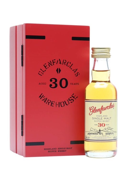 Glenfarclas 30 Year Old / Miniature Speyside Single Malt Scotch Whisky